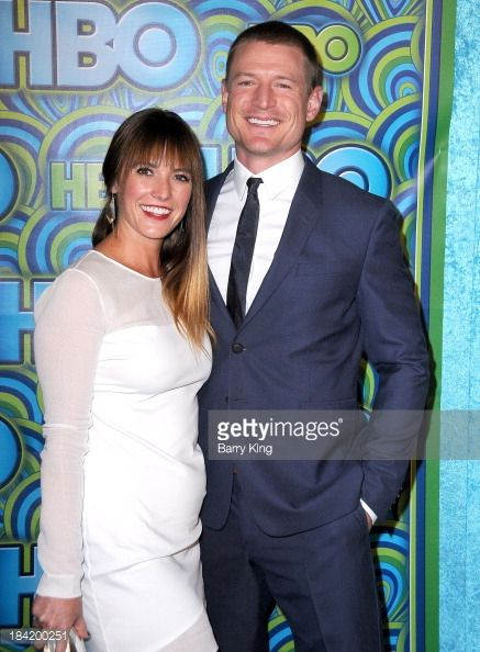 News Photo : Actor Philip Winchester and Megan Marie...