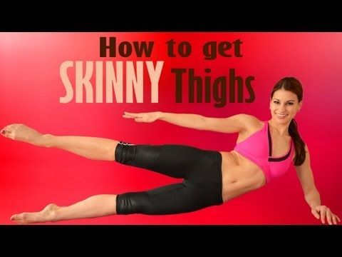Saddlebags and Inner Thigh Bulge: Lower Body Slimming 15-Minute Fat Burning Workout - YouTube