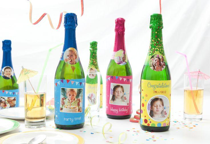 Etiquettes pour bouteilles, étiquettes personnalisées
