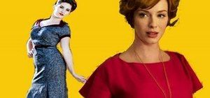 """How to Create Joan Holloway's retro """"Mad Men"""" curled updo « Hairstyling"""