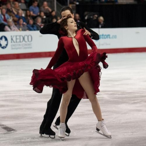 Alexandra Paul & Mitch Islam perform their SD at the 2015 Canadian Figure Skating Championships