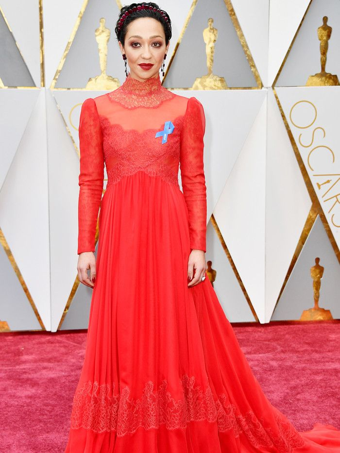 The Only Oscars Red Carpet Looks You Need to See via @WhoWhatWear