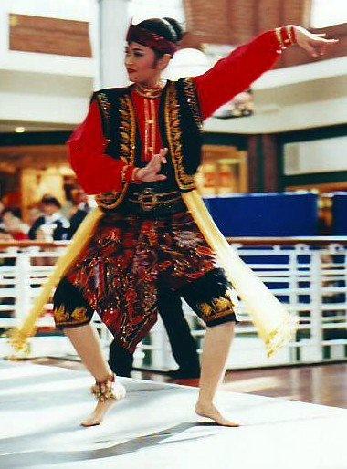 Javanese dancer from Jakarta
