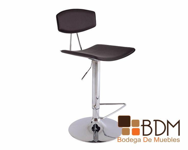 Silla minimalista bancos y sillas altas pinterest for Sillas modernas altas