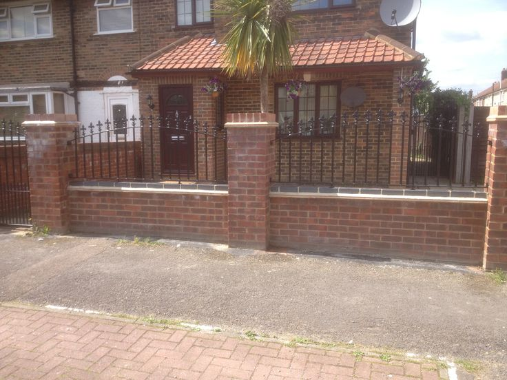 The best way to beautify and secure your home; our RSG4200 railings fitted in London.