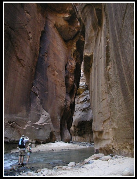 Zion National Park , the Narrows