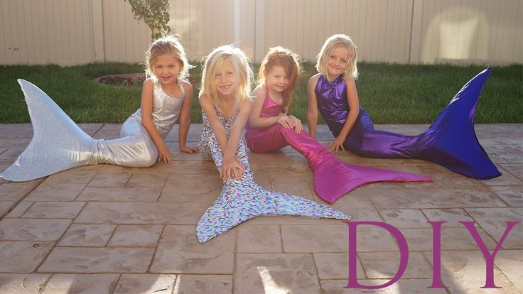10 DIY Mermaid Tails (Sewing & No Sewing)
