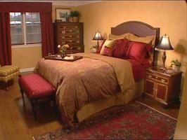 Tuscan Inspired Bedroom Beautiful