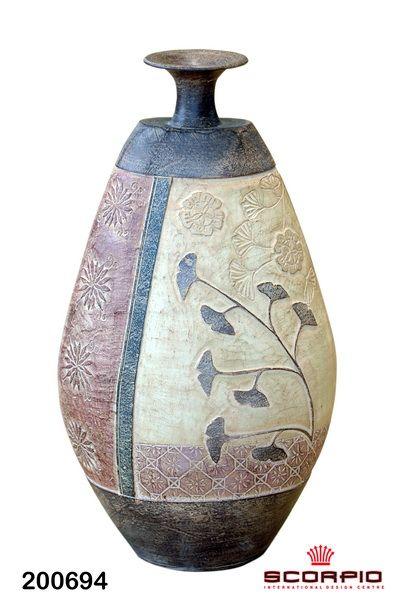 керамическая ваза - Вазы из фрафора и керамики - SCORPIO - Магазин подарков, декора, иллюминации