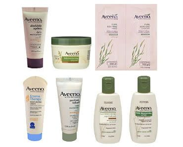 Enter today for your chance to win an Aveeno Sample Box #giveaway . Each box contains 6 or more #Aveeno products. Remember this flash giveaway only lasts for 24 hours, so enter now!