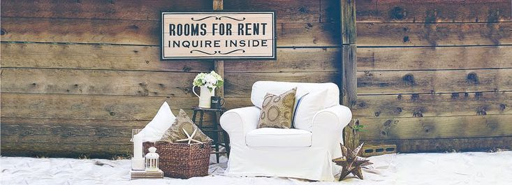 To show the hubs what white woodwork does to brighten up and casual up a home. Plus, it's a nice blog. ~rooms FOR rent~