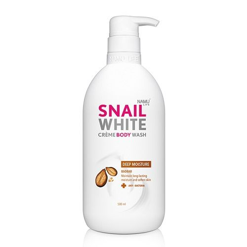 Snail White Creme Body Wash 500ml Deep Moisture