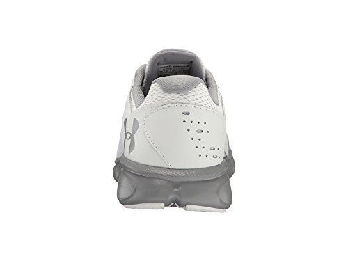 low priced 362b0 30300 Under Armour Mens UA Thrill 2 White/White/Steel Athletic ...