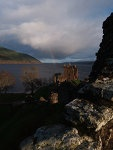 Castle Urquhart, Scotland.  A shadow of what was and never will be again.