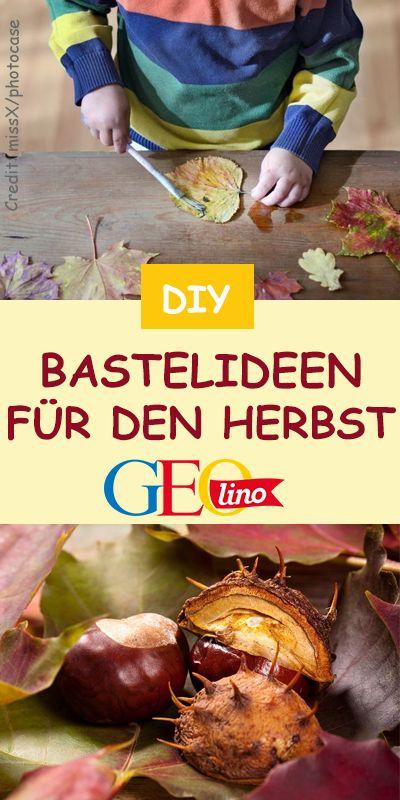 Herbstbasteln: TOP Ideen