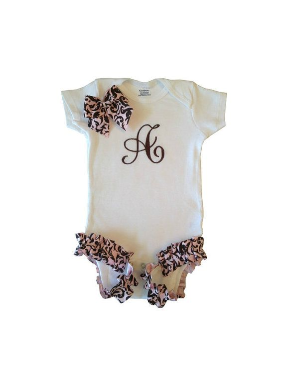 Personalized Baby Girl Onesie on Etsy, $21.00
