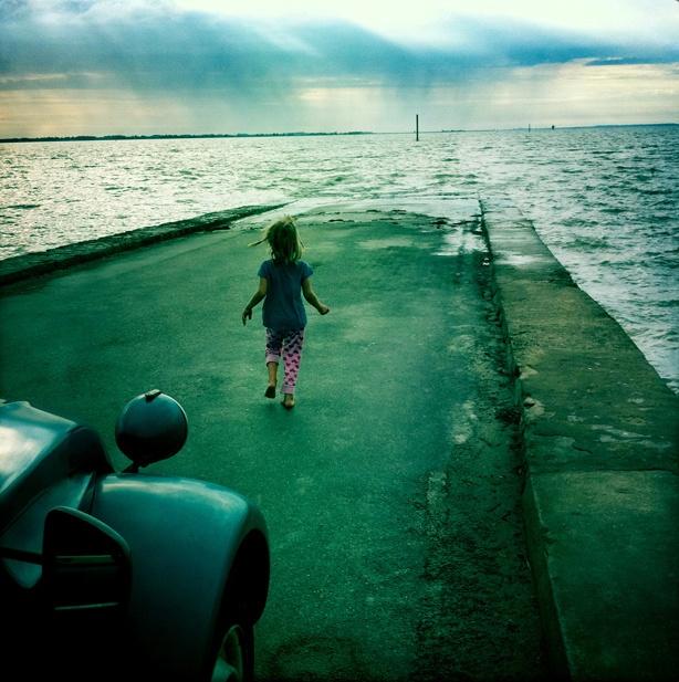 ile de noirmoutier, waiting for the low tide