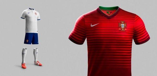 Conozca las camisetas del Mundial Brasil 2014 ---                 PORTUGAL