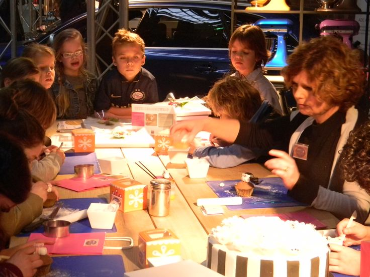 Workshop Cupcakes maken