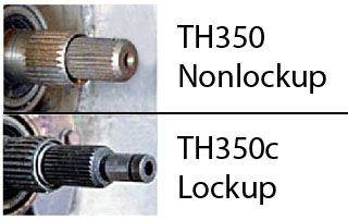 TRANSMISSION: TH350 & TH350c ID | '60s Chevy C10  Motor