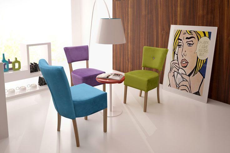 Jadalnia : Krzesło PARIS http://sweethomeshop.pl/jadalnia/krzeslo-paris-detail