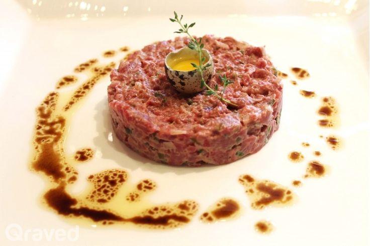 Beef Tartare at Riva