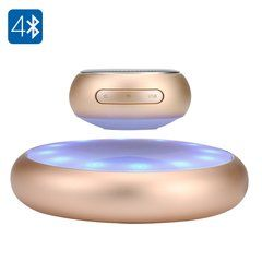Levitating Bluetooth Speaker - 10 Meters Range, 5W Speaker, Rechargable Battery…