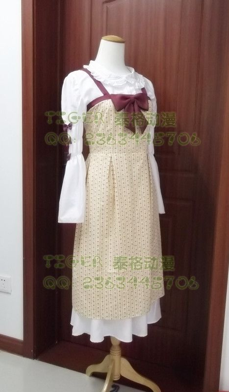 91$  Know more - 2016 New Style Custom Made Vanilla Daily Dress From Game NEKOPARA   #aliexpressideas