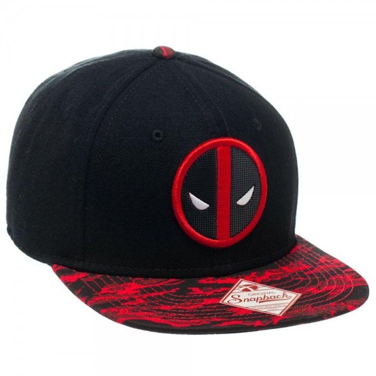 New Marvel Deadpool Hats. Get yours here: http://padlu.com/products/marvel-deadpool-tigerstripe-black-flat-brim-baseball-cap-hat-snap-back