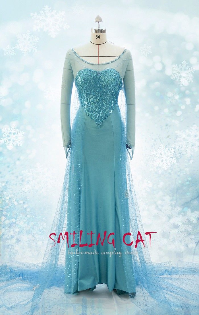 Frozen  Cosplay  Elsa Fancy Dress  costume