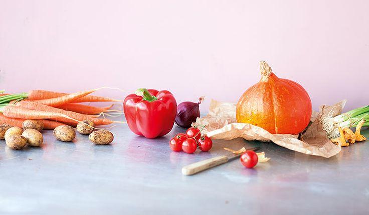 Küchengötter-Saisonkalender für Obst und Gemüse: Einkaufen und Kochen nach Saison