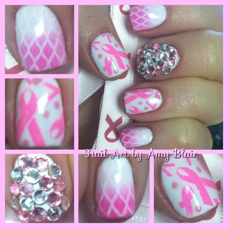 143 Best Images About Awareness Nails On Pinterest