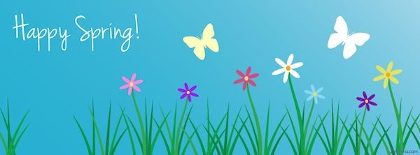 Happy Spring Facebook Cover | ∾ Facebook Covers 101 ∾ | Pinterest | Happy spring, Facebook and ... - photo#30