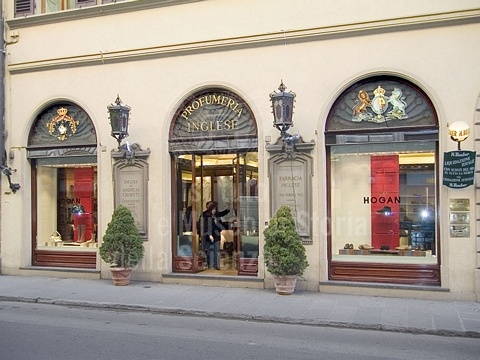 Hogan winkel aan de Via de Tornabuoni in Florence, Italy