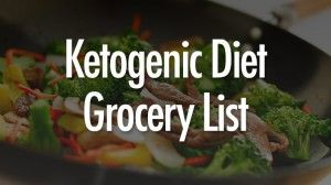 Ketogenic Diet Grocery List