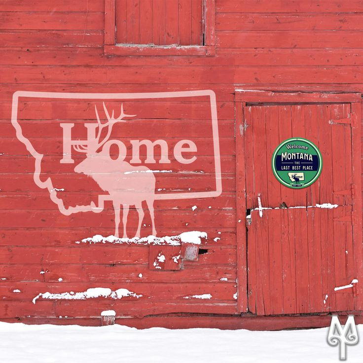 Do you miss home? Put a 'Montana The Last Best Place' wall sign in your home or cabin to remind you to return. :)