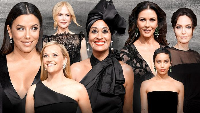 """New Fashion Leader Breaking News : La 75ème cérémonie des Golden Globes était l'événement de ce début d'année 2018. Placée sous """"le signe de l'engagement envers la cause féminine"""", la soirée avait des airs de révolution. Discours enflammé d'Oprah Winfrey, dress code : """"ALL BLACK""""  Retrouvez tous les Best Of Des Looks et le décryptage sur la page : https://www.facebook.com/Newfashionleader/ """"It's also encouraging female stars (and the men who support them) to wear black to the. Golden Globes…"""