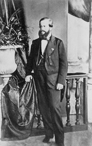 HIM Emperor Pedro II of Brazil (1825-1891)
