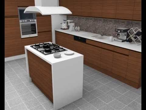 HomeByMe Real Simple Interior Design Ideas Rendering In 3D Of Bedroom Kitchen Bathroom