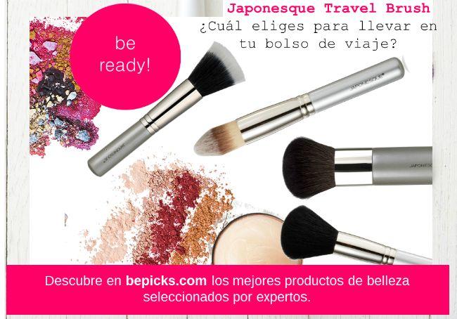 ¡Siempre listas! Lleva contigo las exclusivas brochas de Japonesque y luce radiante todo el día.  Descubrelas en #bepicks ➜www.bepicks.com/travel-brush-facial #brush #japonesque #facial #travelsets