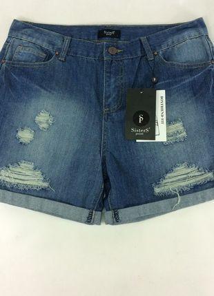 Kup mój przedmiot na #vintedpl http://www.vinted.pl/damska-odziez/szorty-rybaczki/13551575-sexi-jeansowe-szorty-z-przetarciami-sisters-point-nowe-l-idealne-na-lato