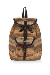 Aztec Stripe Backpack