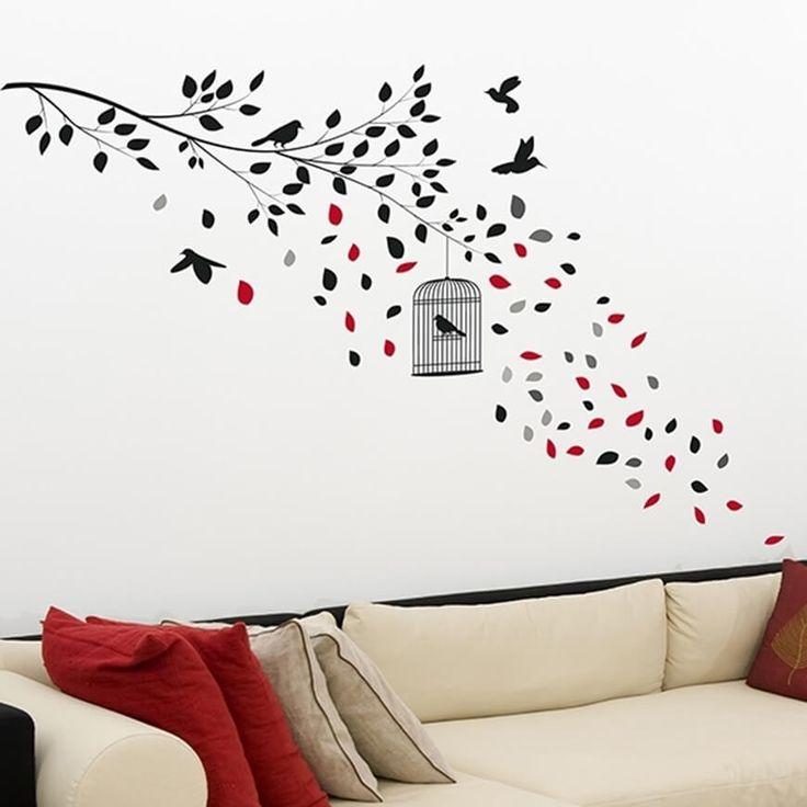 Un moderno Ramo decorerà la tua paree, I nostri adesivi murali sono adatti a tutte le pareti lisce, facili da apllicare e rimuovere.