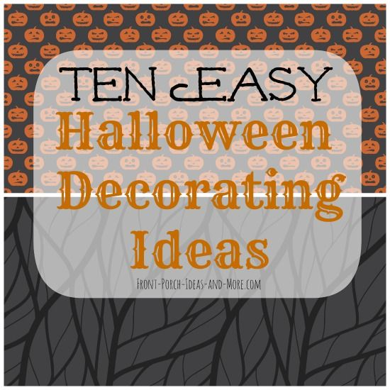 17 Best images about Halloween Porch Ideas on Pinterest