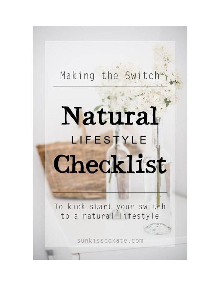 Ready to start living a more natural lifestyle? Here's a cheat sheet to help you find all the hidden toxins lurking in your home | Natural Living | Non-Toxic Lifestyle | Free Printable |