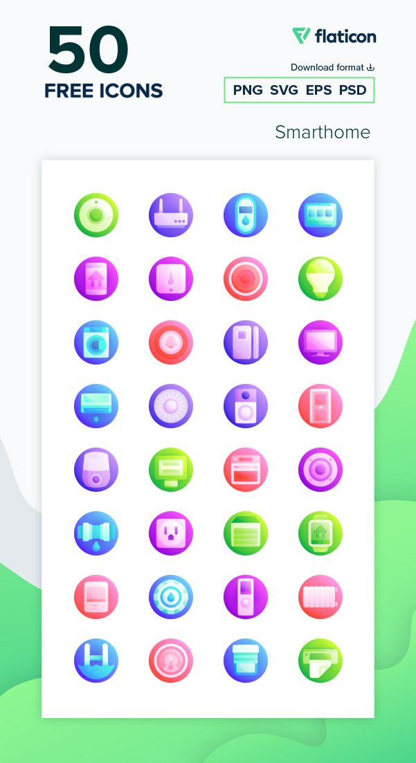 50 Free Vector Icons Of Smarthome Designed By Freepik Icon Vector Icons Free Icon Packs