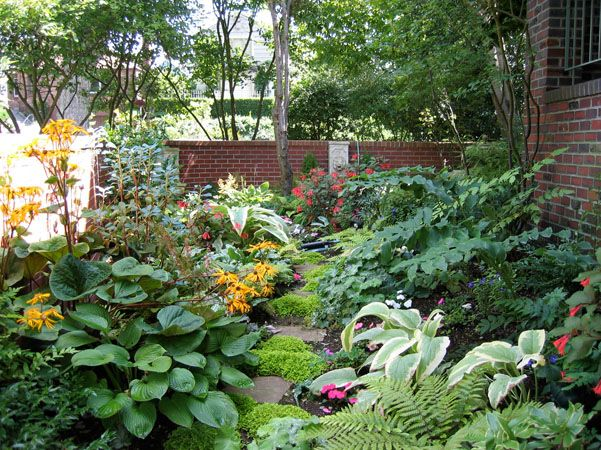 68 best images about landscape on pinterest flower beds for Garden design ideas shady areas
