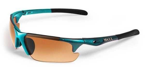Maxx Sunglasses Storm Turquoise Frame HD Amber Lenses. MXSTORM-T