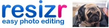 Resizr is a free and very easy to use image editor that you can use without installing any software.