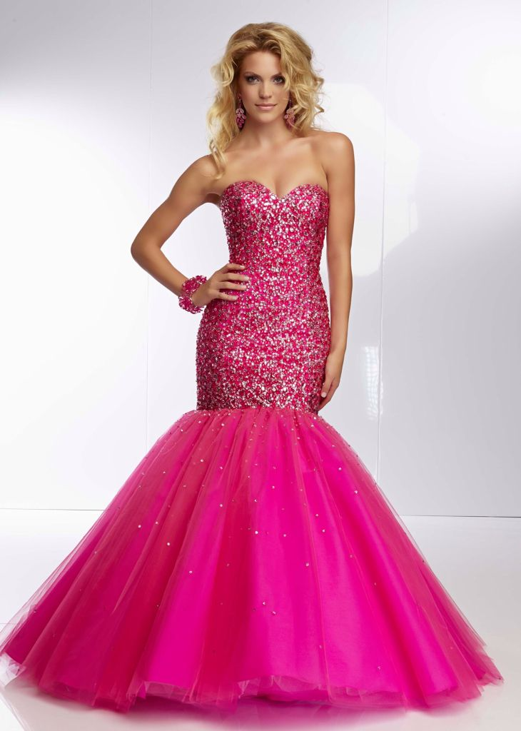 Pink Sparkly Prom Dresses 2015 - Missy Dress